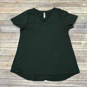 Solid Black LuLaRoe Christy T Size L